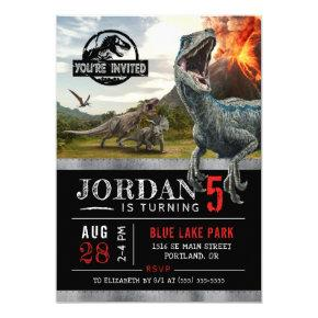 Jurassic World | Dinosaur Birthday Invitations