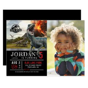 Jurassic World | Dinosaur Birthday with Photo Invitations