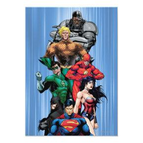 Justice League - Group 3 Invitations