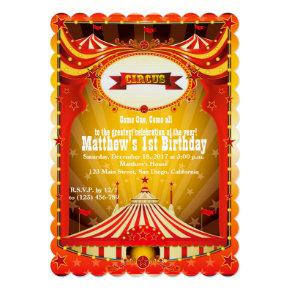 Kids Birthdy Party | Circus Carnival