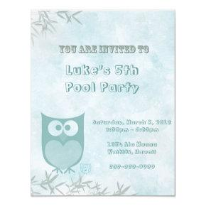 Kids Outdoor Party Invitation