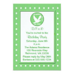 Kids Polka Dots And Puns Birthday Party Candied Clouds