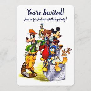 Kingdom Hearts: coded   Group Key Art Invitation
