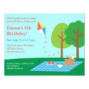 Kite Park Picnic Birthday Party