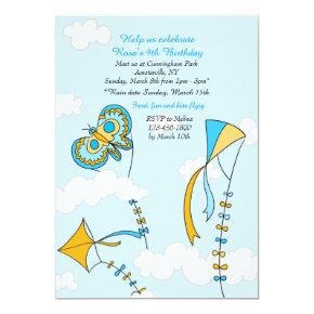 Kite Sky Invitation