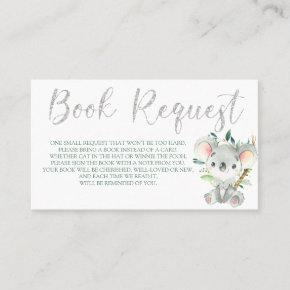 Koala Book Request  for Baby Shower Birthday