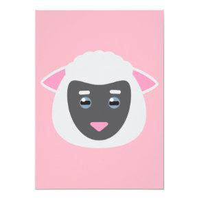 Lamb Invitations