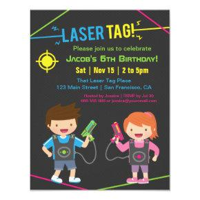 Laser Tag Kids Birthday Party
