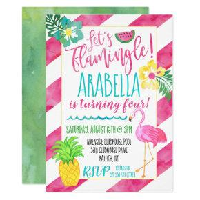 flamingle birthday invitations candied clouds
