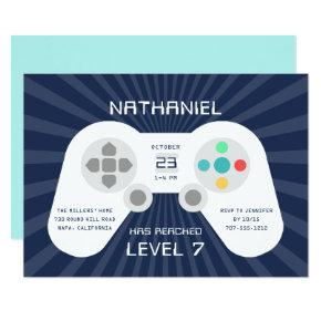 Level Up | Birthday Party Invitation
