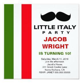 LGC Little Italy Party Invitation