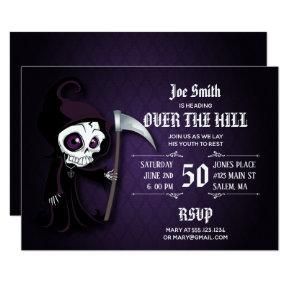 Lil' Grim Over The Hill Party Invitations