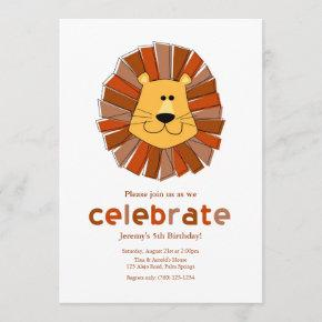 Lion Birthday