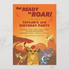 Lion Guard | Birthday Invitation