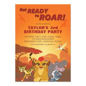 Lion Guard | Birthday Invitations