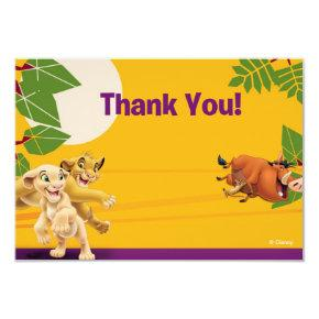 Lion king birthday invitations candied clouds lion king thank you cards bookmarktalkfo Images