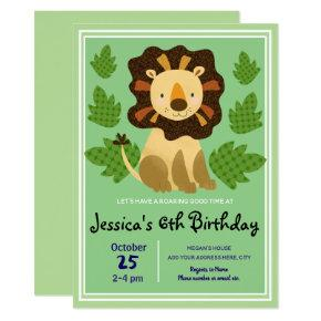 Little Lion Birthday Party
