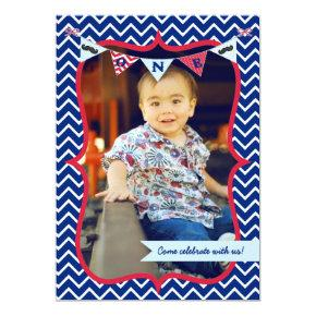 Little Man Mustache Bash First Birthday Invitations