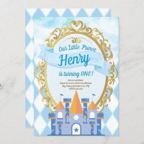 Little Prince Birthday Party Invitation