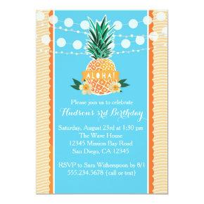 Luau Party Invitations for Birthday, Shower, etc