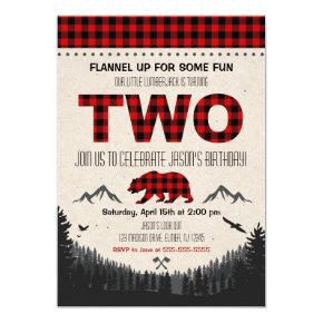 Lumberjack Birthday Invitations Woodland Birthday