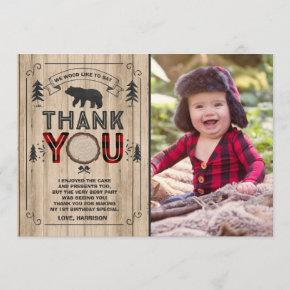 Lumberjack Thank You Invitations Lumberjack Party