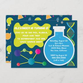Mad Science Scientist Birthday Party