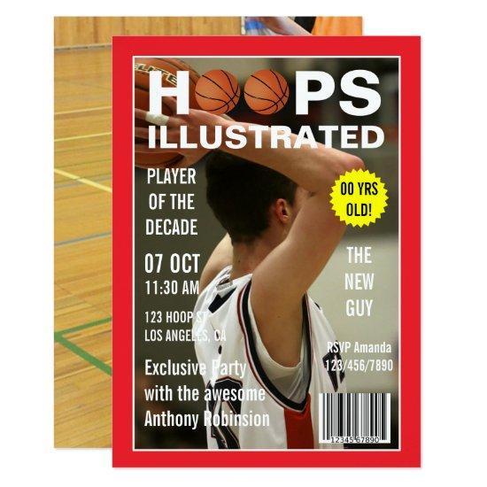 Magazine Celebrity Basketball Birthday Party photo