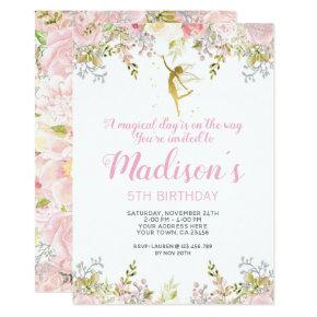 Magical Fairy Birthday Invitation Photo