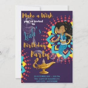 Make a wish Birthday Invitation