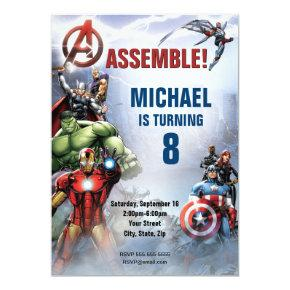 Marvel | Avengers - Birthday Invitations