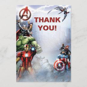 Marvel | Avengers - Birthday Thank You Invitations