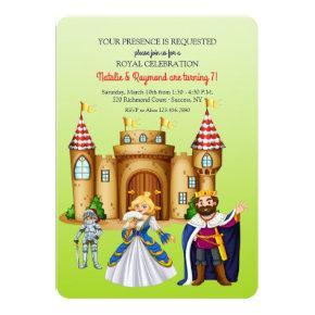 Medieval Times Birthday Party Invitation