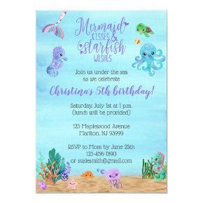 Mermaid Birthday  for Girls