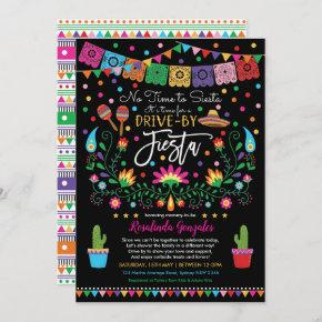 Mexican Fiesta Nacho Average Drive By Baby Shower Invitation