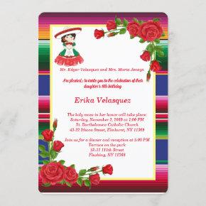 Mexican Theme Invitation