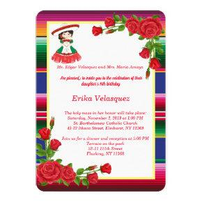 Mexican Theme Invitation