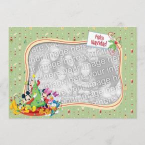 Mickey and Friends: Feliz Navidad Invitations