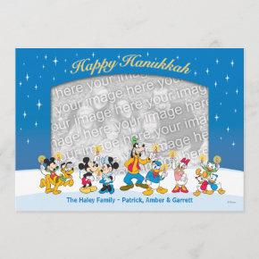 Mickey and Friends: Happy Hanukkah Invitations