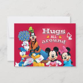 Mickey and Friends Hugs All Around