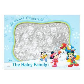 Mickey and Friends: Season's Greetings Card