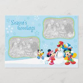 Mickey and Friends: Season's Greetings Invitations