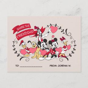 Mickey and Friends - Share the Friendship Holiday Post