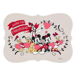 Mickey and Friends - Share the Friendship Invitation