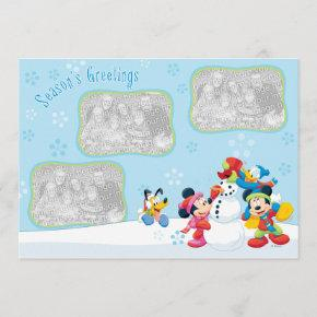 Mickey & Friends Snow: Season's Greetings Invitations