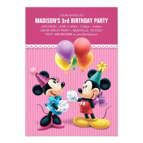 Mickey & Minnie | Birthday
