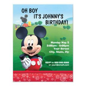 Disney Birthday Invitations Candied Clouds