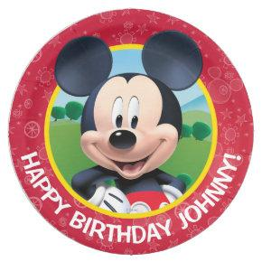 Mickey Mouse Birthday Paper Plate