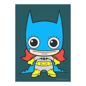 Mini Batgirl Invitation
