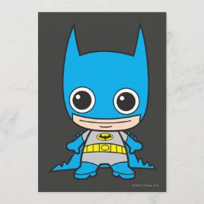 Mini Batman Invitation